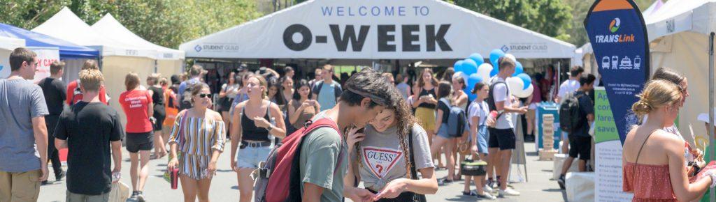 O-Week Schedule